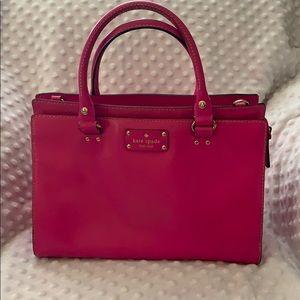 Hot pink Kate Spade purse